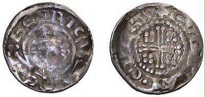 England Richard I The Lionhearted 1189-99 AD AR Short Cross Penny York S.1348A
