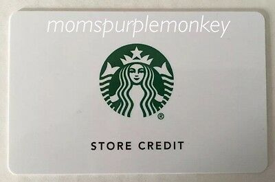 """Starbucks """"Store Credit"""" Card in the amount of $158.31"""