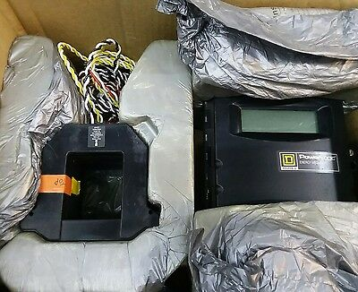 Square D PowerLogic Energy Meter,EME3084 with  Current Transformers