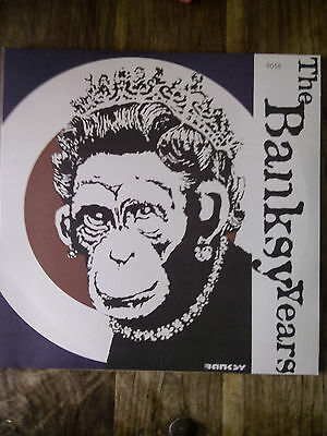 "The Banksy Years Rare 12"" record Orange Vinyl Limited Edition of just 1000"