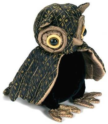Lord Oliver the Wise Owl Lavender Scented Brocade Fabric Paperweight Brand New