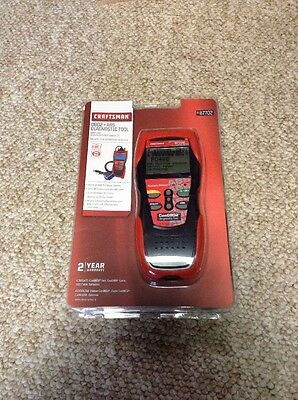 Craftsman 987702 OBD2 + ABS Diagnostic Tool Brand New Sealed Free S&H!