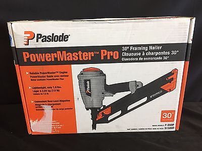 "Paslode F-350P PowerMaster Pro Framing Nailer, 2"" to 3-1/4"" #515000 NEW"
