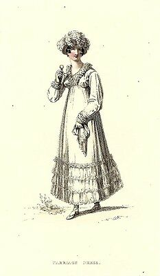 ACKERMANN REPOSITORY   Regency Fashion Plate    CARRIAGE DRESS    SEPTEMBER 1815