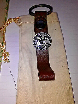 WOLVERINE 1000 Mile Key Chain Rockford Michigan Leather since1883-new wpouch