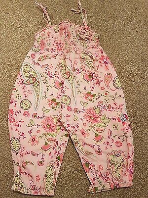 Girls Monsoon playsuit age 3-6 months