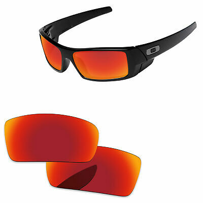 ba053d934f2 Fire Red Mirror Polarized Replacement Lenses For-Oakley Jupiter Sunglasses