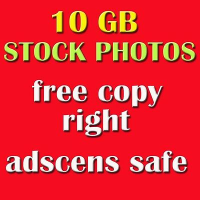 10 GB stock photos FREE COPY-RIGHT , ADSCENS SAFE High Resolution resell right