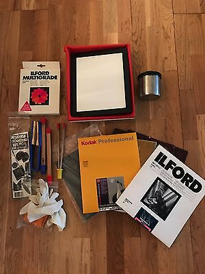Darkroom Kit - Trays / Thermometer / Filter Set / Developing Tank with Two Reels