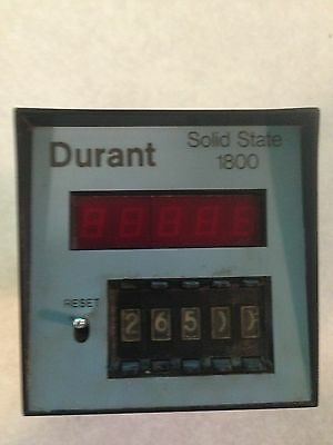 Durant 1800-511 Solid State Counter