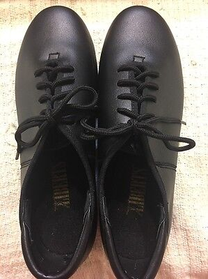 Liberts Adult Black Tap Shoes Oxford Style Size 5  Style 343   3220