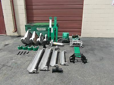 Greenlee 881CT 881 CT Cam track one shot bender 980 Hydraulic pump table VGC