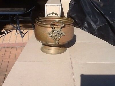 Copper Brass Plant Pot