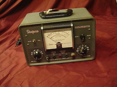Simpson 383A capacitance and in circuit leakage tester.