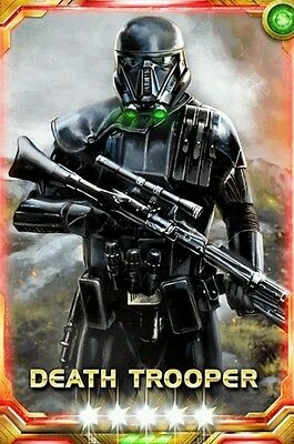 Star Wars Force Collection 5* Death Trooper Awake Sk50