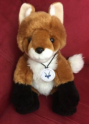 "Build A Bear 13"" Fox Saint Louis Zoo Wildcare Institute H"