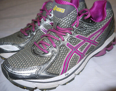 Womens Pink/Gray ASICS GEL GT 2170 Technical Running Shoes size 8.5