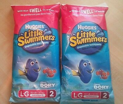 Finding Dory Huggies Little Swimmers Disposable Swim Diapers Large 32+ Lbs