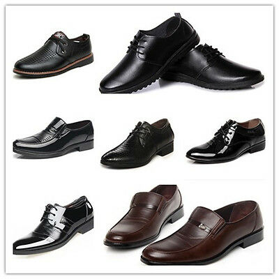 Men's Business Dress Fashion Casual Shoes Dress Formal Oxfords Leather shoes