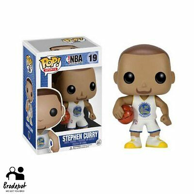 (Authentic) Funko Pop NBA no.19 Stephen Curry Home White Jersey Vinyl Figure
