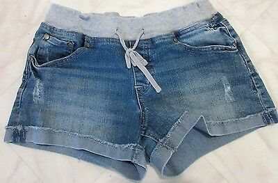 Justice Jean Jogger Distressed Shorts Size 12 1/2