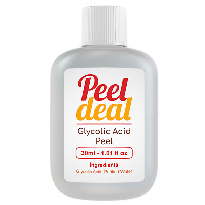 GLYCOLIC ACID PEEL 30ML  - AHA Facial Skin Peel 10% -70%