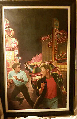 Original Illustration Art CoverThe Hardy Boys Oil painting by Brian Kotzky NICE!