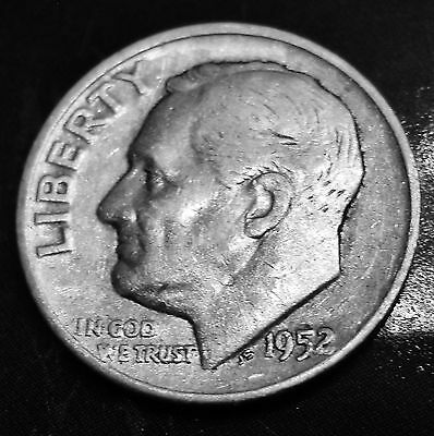 1952-D Roosevelt Dime - 90% Silver - Business Circulated - Denver Mint