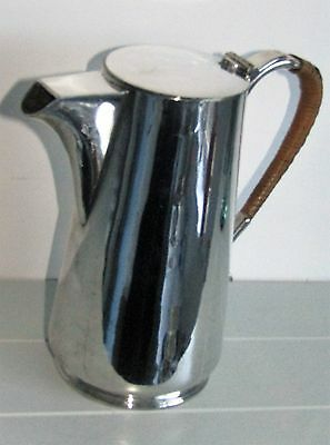 Edwardian Silver Plated Ewer Wine Walter Pitcher Jug Thomas Wilkinson