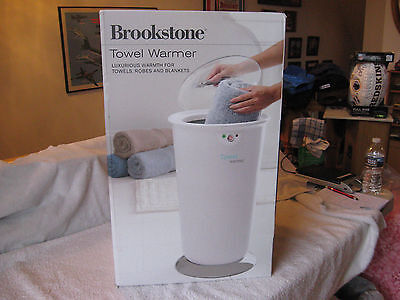 Brookstone Towel Warmer 647156 - New In Opened Box-Tested