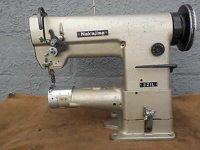 Industrial Sewing Machine Model Nakajima-321-L needle feed ,cylinder- Leather