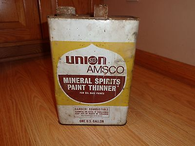 Union 76 Amsco Can -----Mineral Spirits Paint Thinner