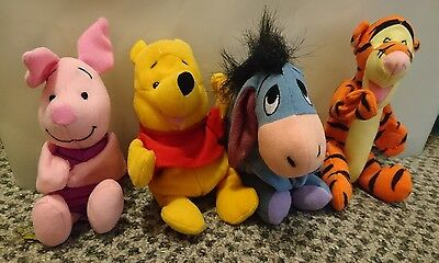 Winnie The Pooh & Friends Tigger Eeyore Piglet cute Plush toys Gift for kid