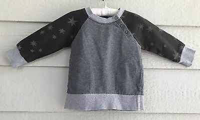 Hanna Andersson long sleeved gray top size 18 Months- 2T (80) - K
