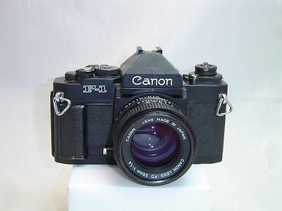 Canon F1 (new) with 50mm f1.4