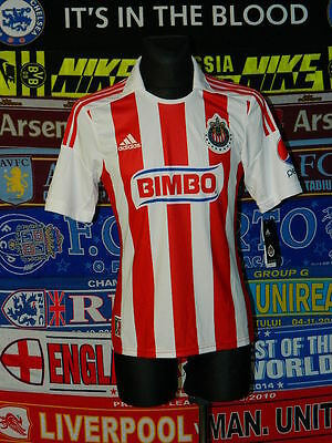new w/tags 5/5 Chivas De Guadalajara adults S 2011 football shirt jersey trikot