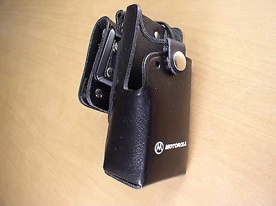 Motorola, Rln4866A, Leather Swivel Case Ct150/Ct250