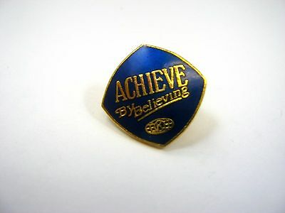 Vintage Collectible Pin: Achieve By Believing Kiwanis International