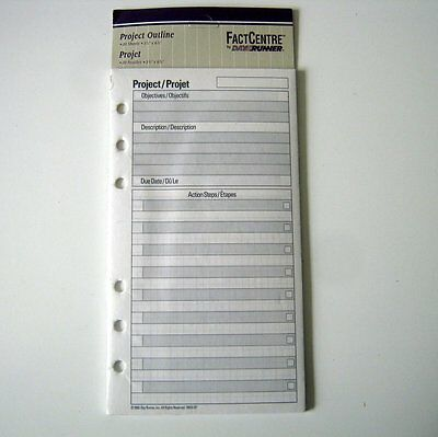 Project Refills for the DayRunner Planners, 20 Sheets