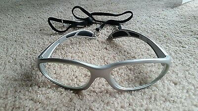 Protech X-Ray Protective Lead Glasses, Silver Wrap Ultralite 99 Safety Frame