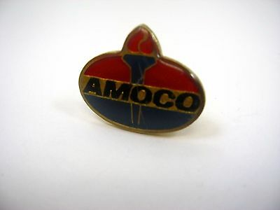 Vintage Collectible Pin: AMOCO Gas Station Oil Co Advertising