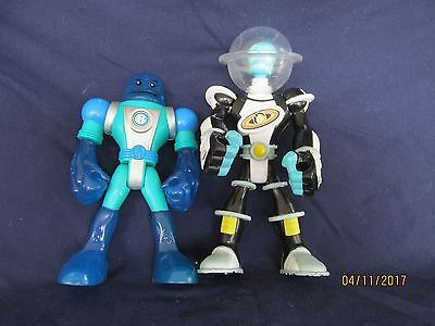 """Fisher Price Planet Heroes lot  Neptune Tune 6"""" Action Figure #8 & other"""