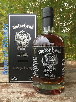 Mackmyra Motörhead Single Malt Whisky Batch 3  0,7l mit 40% Limitierte Auflage