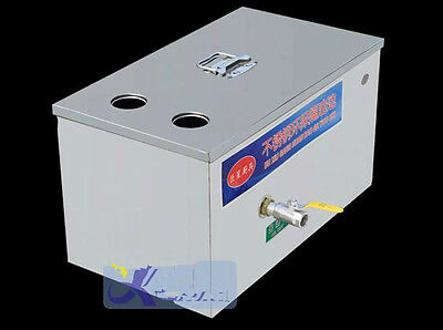 CE Stainless Steel Grease Trap Interceptor for Restaurant Kitchen Wastewater