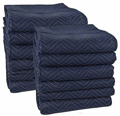 Pro Moving Blankets (12-Pack) - 72'' x 80''
