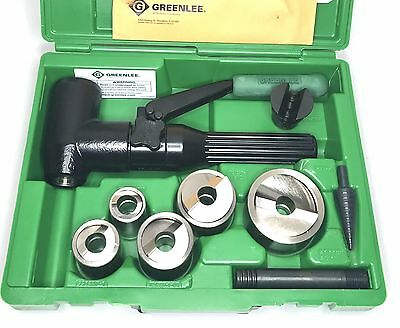 Greenlee 7906SBSP Speed Punch Kit with 7904SB Quick Draw 90 Punch Driver