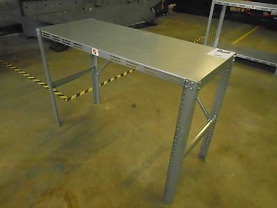 Galvanized Steel Work Bench Table Commercial Industrial Garage masterpunching