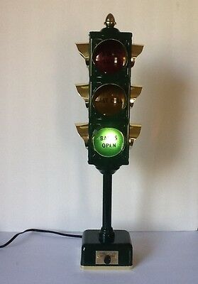 Vintage bar stop light bb traffic signal 1960s japan open last vintage bar stop light bb traffic signal 1960s japan open last call closed aloadofball Image collections