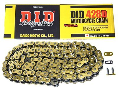 Lexmoto Adrenaline Gold Did Motorcycle Chain 136 Links