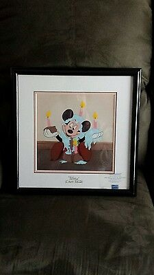 Happy Birthday Mickey Signed Voice Wayne Allwine Disney Limited Edition Sericel